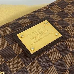 Louis Vuitton Bags - Louis Vuitton Eva Damier Ebene Brown Crossbody